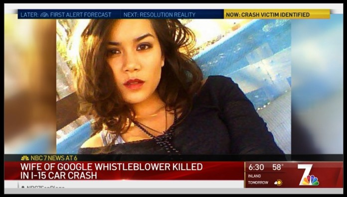 Did Google Assassinate Whistleblower's Wife