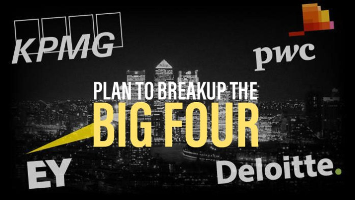 Plan to Breakup the Big Four