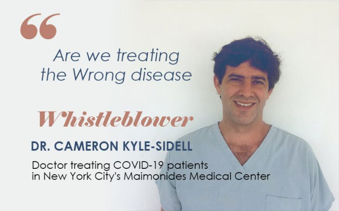 Whistleblower COVID-19 Patients Need Oxygen Therapy Not Ventilator