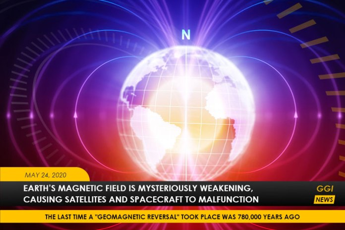 South Atlantic Anomaly - How Earth's Magnetic Field Is Disrupting Satellites & Spacecrafts