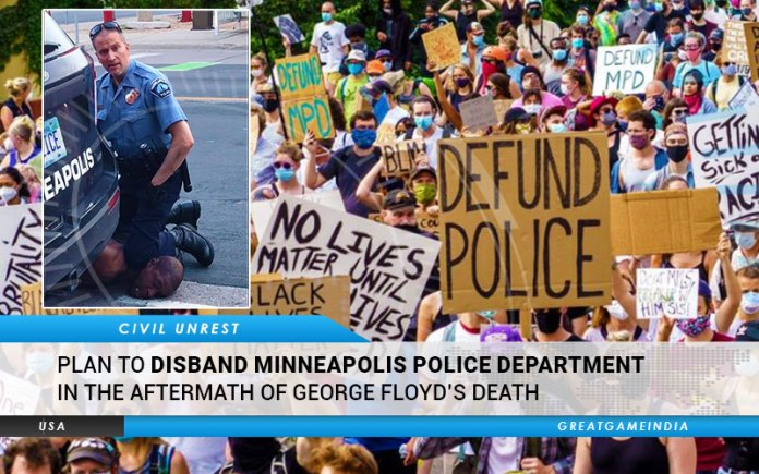 Plan to disband Minneapolis Police Department in the aftermath of George Floyd's Death