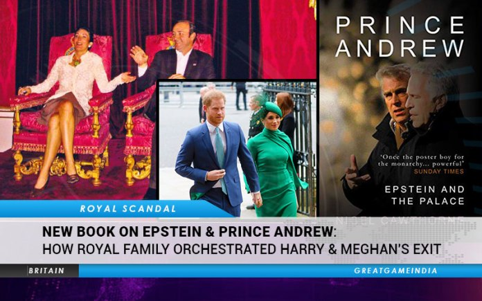 New Book On Epstein & Prince Andrew How Royal Family Orchestrated Harry & Meghan's Exit