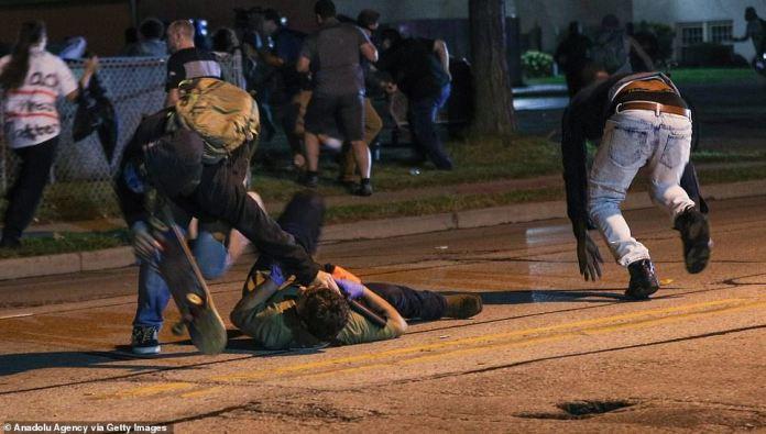 Kyle Rittenhouse fire a shot in self-defense