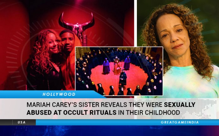 Mariah Carey's Sister Reveals They Were Sexually Abused At Occult Rituals In Their Childhood