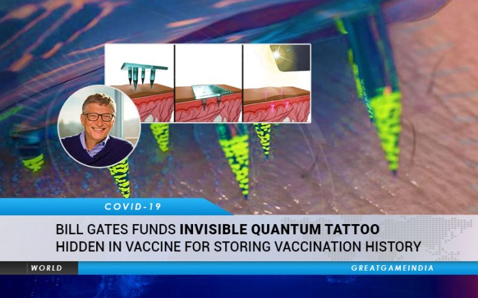 Bill Gates Invisible Tattoo Vaccine