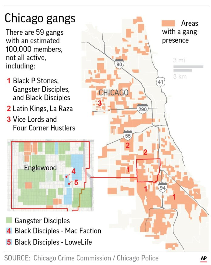 Chicago Street Gangs form alliance to Shoot on Sight cops
