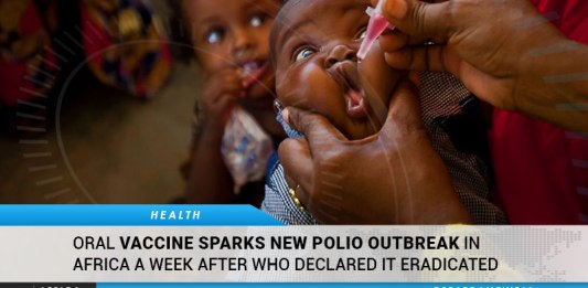 WHO's Oral Vaccine Sparks New Polio Outbreak In Africa