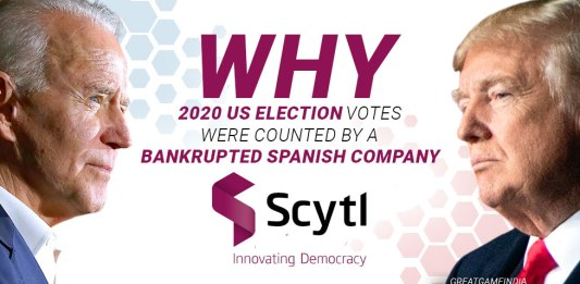 2020 US Election Votes Were Counted By A Bankrupted Spanish Company Scytl