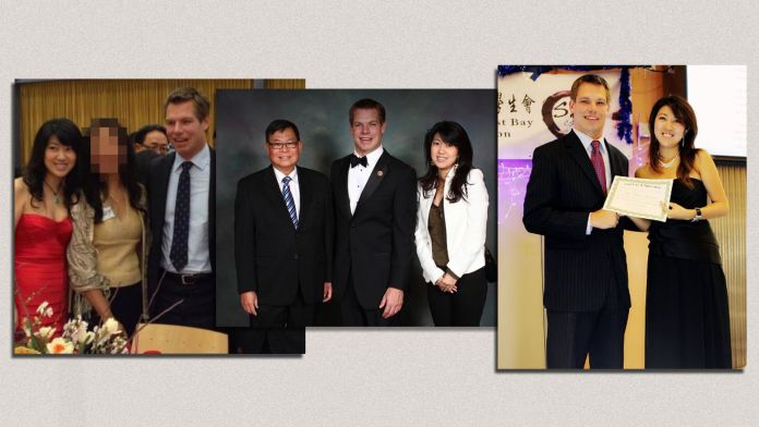 Chinese spy Christine Fang and Rep Eric Swalwell