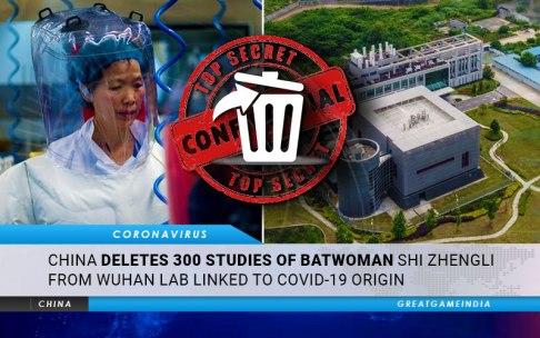 Chiny usuwają 300 badań Batwoman Shi Zhengli z Wuhan Lab powiązanych z pochodzeniem COVID-19