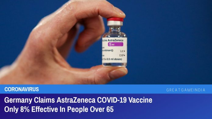 Germany Claims AstraZeneca COVID-19 Vaccine Only 8% Effective In People Over 65