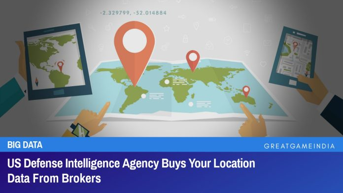 US Defense Intelligence Agency Buys Your Smartphone Location Data From Brokers