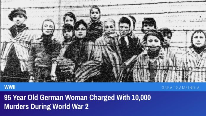 95 Year Old German Woman Charged With 10,000 Murders During World War 2