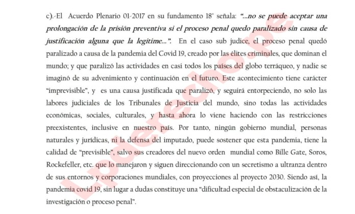 Court In Peru Rules COVID-19 Pandemic Started By Bill Gates, George Soros And Rockefeller