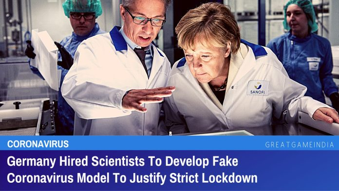 Germany Hired Scientists To Develop Fake Coronavirus Model To Justify Strict Lockdown