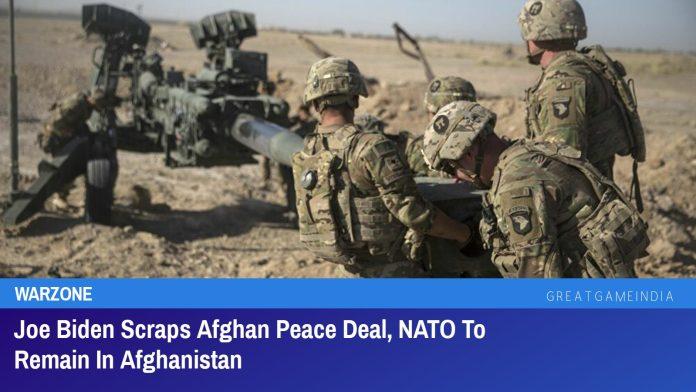 Joe Biden Scraps Afghan Peace Deal, NATO To Remain In Afghanistan