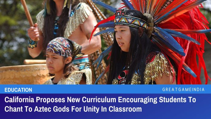 California Proposes New Curriculum Encouraging Students To Chant To Aztec Gods For Unity In Classroom