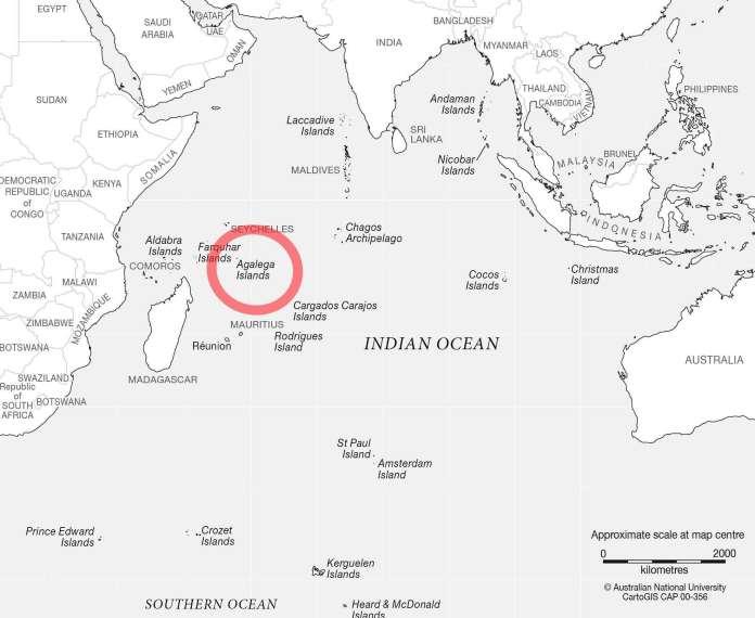 India building naval base in Indian Ocean