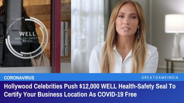 After Vaccine Passports,  Now Hollywood Comes Up With $12,000 COVID-19 Health Seal For Businesses