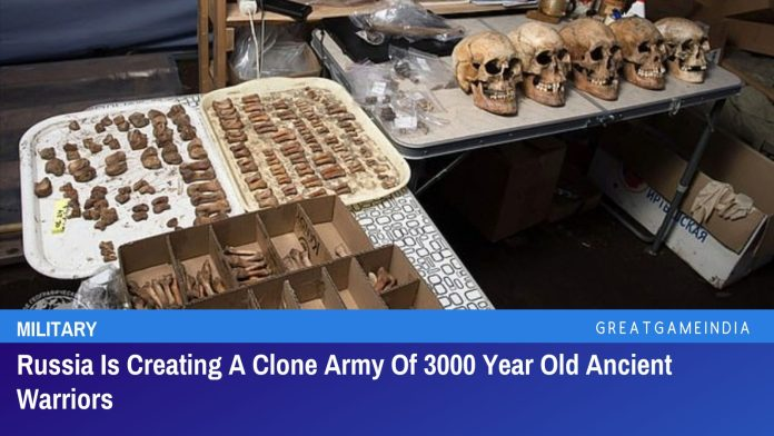 Russia Is Creating A Clone Army Of 3000 Year Old Ancient Warriors