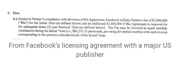 How Facebook Is Taking Over Journalism With $1.6 Billion Secret Deals