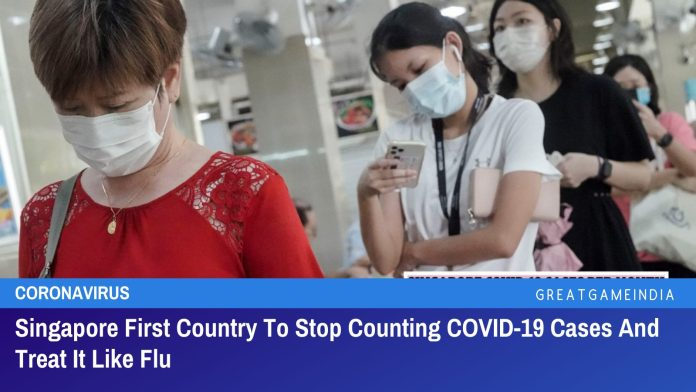 Singapore First Country To Stop Counting Daily COVID-19 Cases And Treat It Like Normal Flu