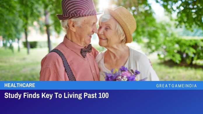 Study Finds Key To Living Past 100