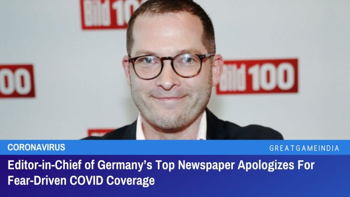 Editor-in-Chief of Germany's Top Newspaper Apologizes For Fear Driven COVID Coverage