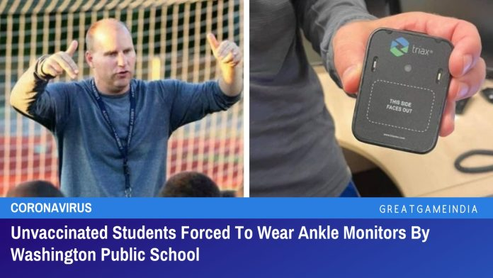 Unvaccinated Students Forced To Wear Ankle Monitors By Washington Public School