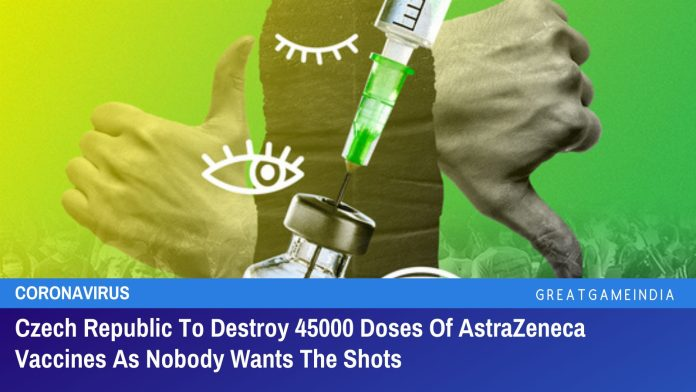 Czech Republic To Destroy 45000 Doses Of AstraZeneca Vaccines As Nobody Wants The Shots