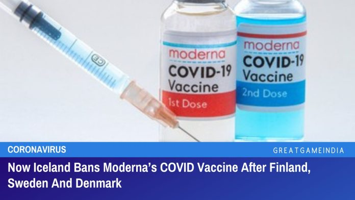Now Iceland Bans Moderna's COVID Vaccine After Finland, Sweden And Denmark