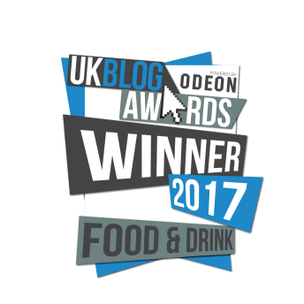 UK Food and Drink Blog of the Year 2017