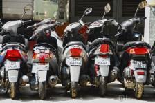 Motorbike rides at Macau.