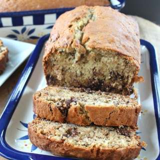 Chocolate Chunk Banana Nut Bread