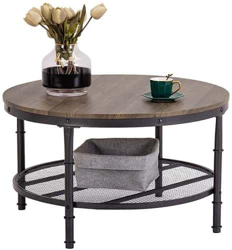 Bonnlo Industrial Coffee Table