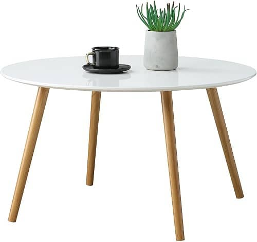 Convenience Round Coffee Table
