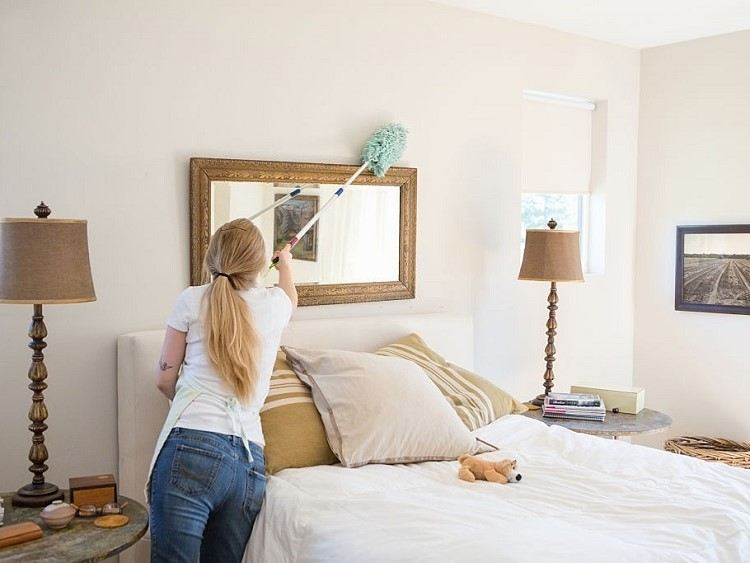 clean up the entire house. Cleaning tips and tricks
