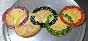 Greathouse of Pizza - Pizza Art - Olympics