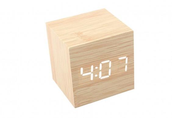 Mini Wooden Desk Clock