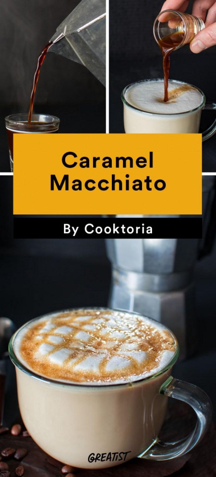 At Home Starbucks Recipes: Caramel Macchiato