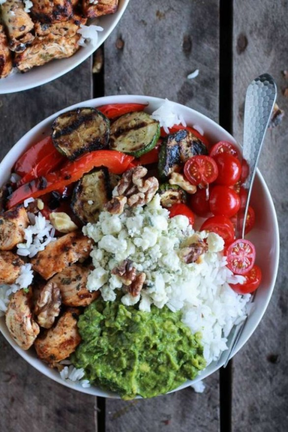 Detox Recipes: California Rice Bowl