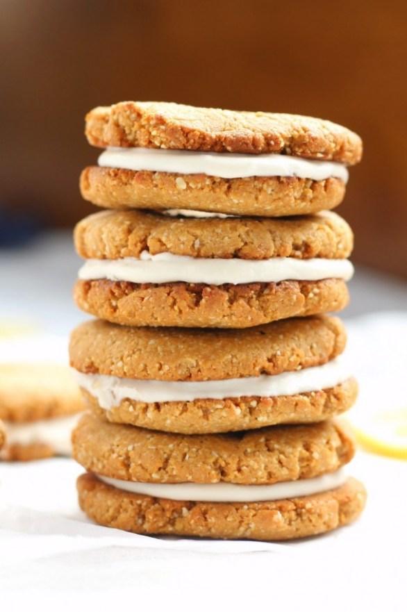 coconut sandwich cookies