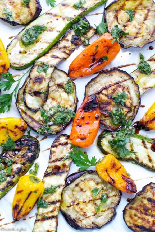 Detox Recipes: Grilled Vegetable Salad