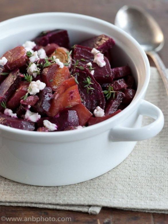 Detox Recipes: Roasted Beets and Goat Cheese
