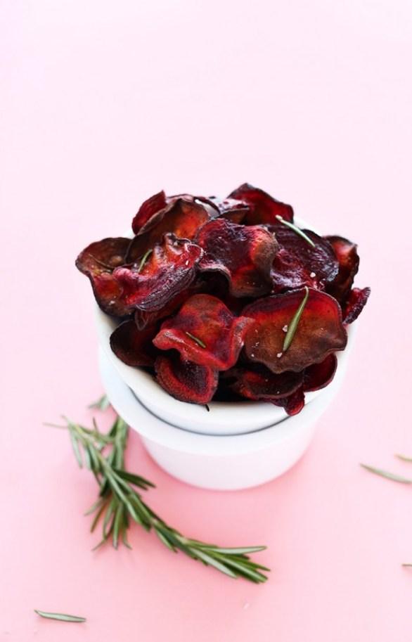 Rosemary Beet Chips Recipe