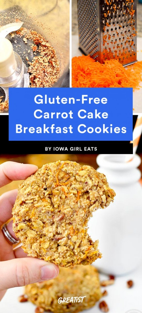 Gluten-Free Carrot Cake Breakfast Cookie