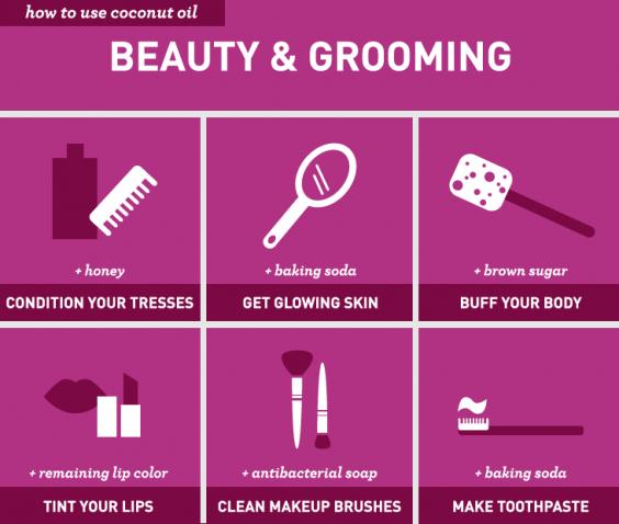 Genius Ways to Use Coconut Oil: Beauty & Grooming
