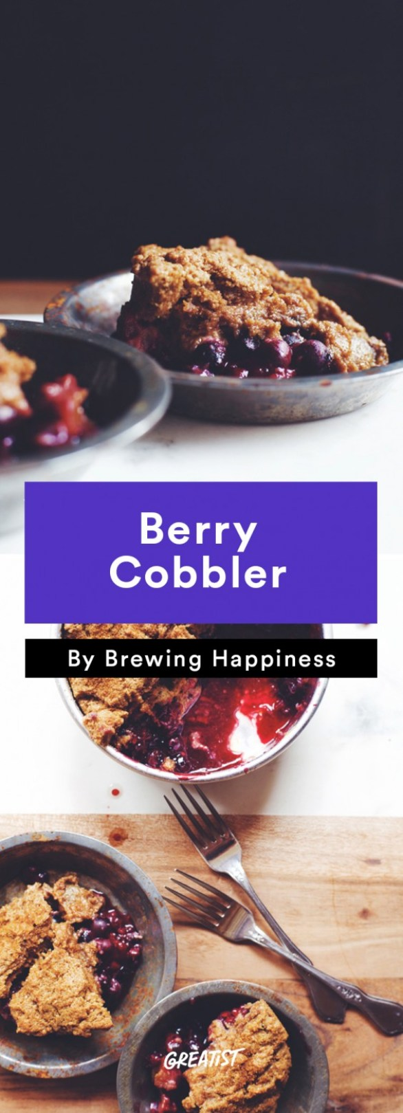 brewing happiness: Berry Cobbler