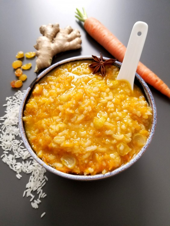 Spiced Carrot Congee Recipe