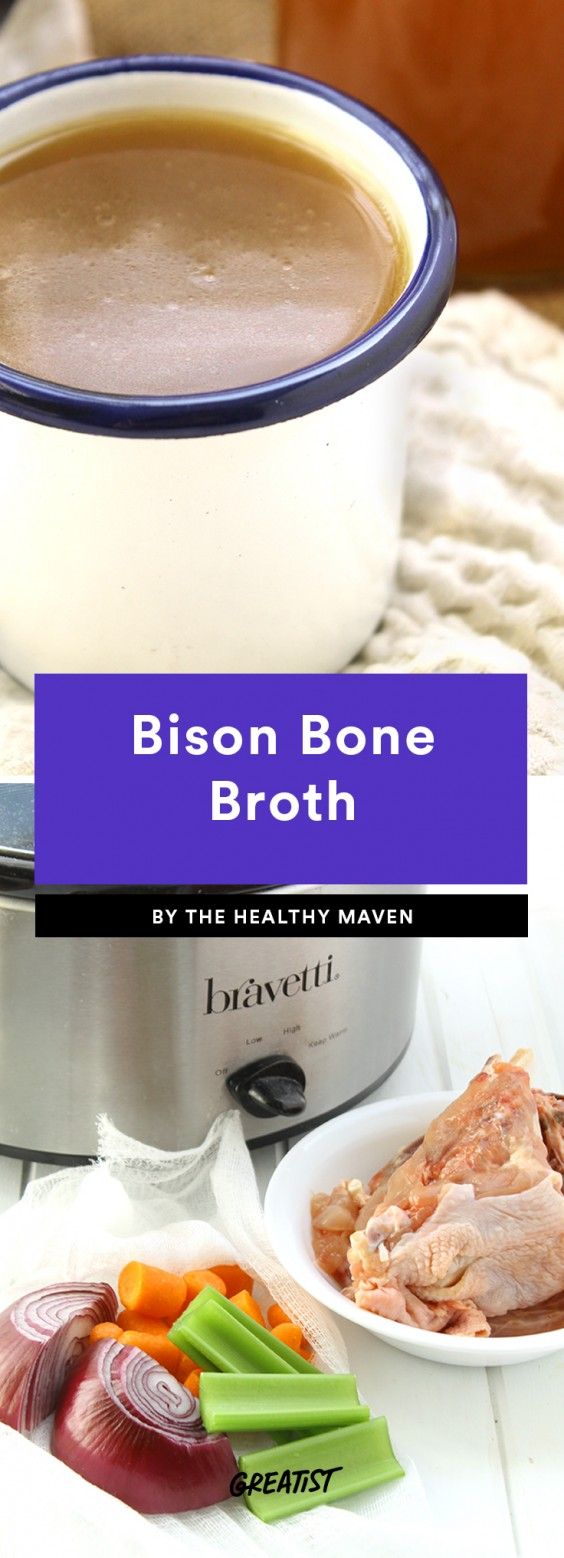 Bison Bone Broth